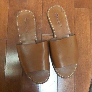 Madewell Boardwalk Post Slide Sandal Size 7.5